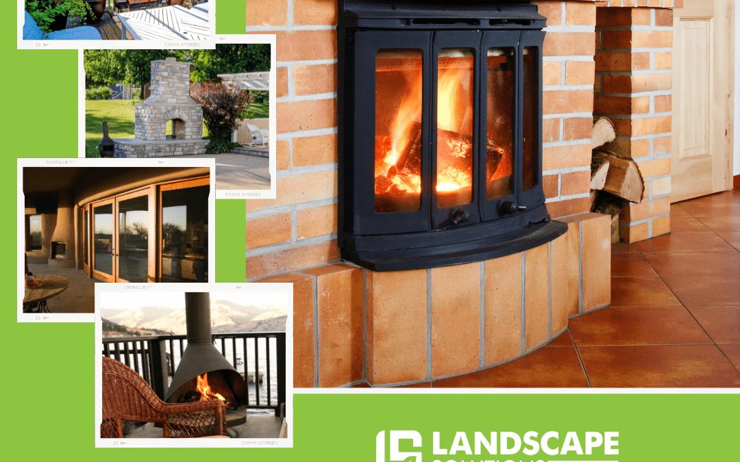 Freestanding Backyard Fireplace
